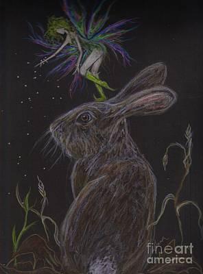 Fey Drawing - Soon by Dawn Fairies