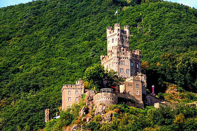 Photograph - Sooneck Castle On The Rhine River by Marilyn Burton