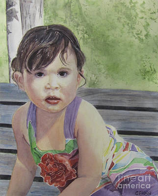 Painting - Sophia by Carol Flagg