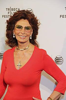 Tribeca Film Festival Premiere Photograph - Sophia Loren by Manny Zoom