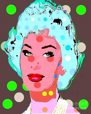Digital Art - Sophia Loren by Ricky Sencion
