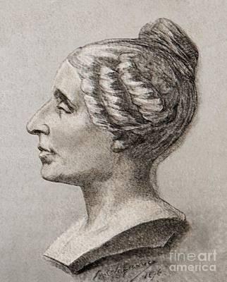 Sophie Germain2 1776- 1831 Art Print by Sheila Terry