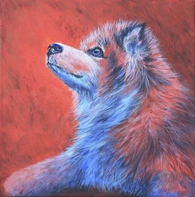 Animal Painting - Sophie's Hope by Wendi Curtis