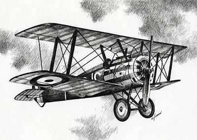Sopwith F.1 Camel 1917 Art Print