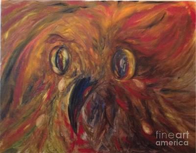 Painting - Soroka by Irene Pomirchy