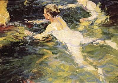 Impressionism Photograph - Sorolla, Joaqu�n 1863-1923. Swimmers by Everett