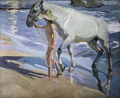 Impressionist Photograph - Sorolla, Joaqu�n 1863-1923. White by Everett