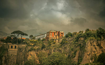 Sorrento Photograph - Sorrento Cliff Top Residence by Chris Fletcher