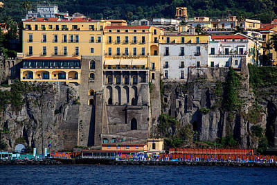 Photograph - Sorrento Coast Line by Uri Baruch
