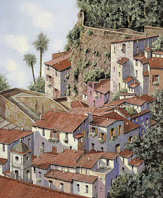 Fishermen Painting - Sorrento by Guido Borelli