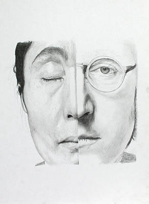 Yoko Ono Drawing - Sorrow For The Loss Step 2 by Miguel Rodriguez