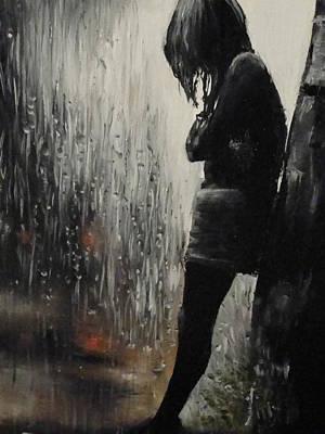 Painting - Sorrow by Sergey Selivanov