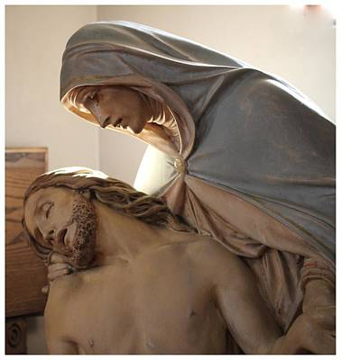 Photograph - Sorrowful Mother by Frank Wickham