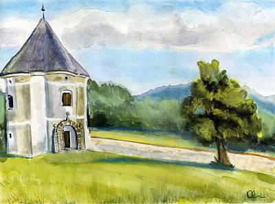 Painting - Soteska. Slovenia. by Lelia Sorokina
