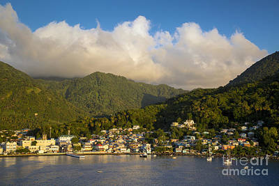 Photograph - Soufriere - St Lucia by Brian Jannsen