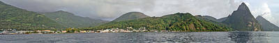 Photograph - Soufriere St Lucia Pan 3 by Jeff Brunton