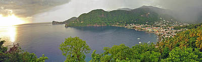 Photograph - Soufriere St Lucia Pan by Jeff Brunton