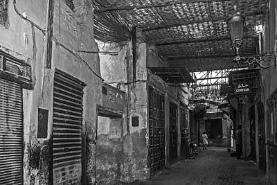 Photograph - Souk Street In Marrakech by Ellie Perla