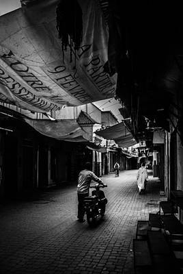 Photograph - Souk Veils by Ellie Perla