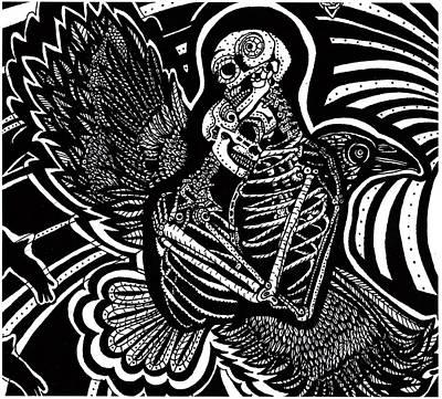 Soul Mates Art Print by Judy Moon