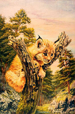 Soul Of Pine Forest Art Print by Irina Sumanenkova