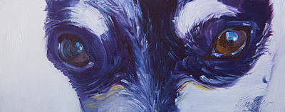 Painting - Soul Of The Dog #4 by Sheila Wedegis