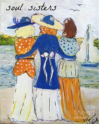 Soul Sisters I Art Print