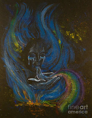 Chakra Rainbow Painting - Soul Song by Colleen Koziara
