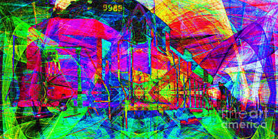 Soul Train 20130620 Long Art Print