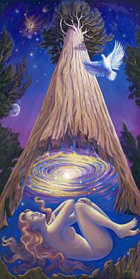 Soul Tree Original by Brenda Ferrimani