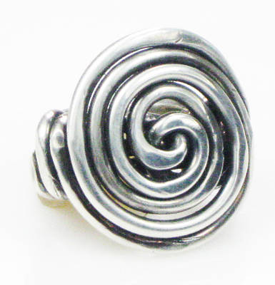 Esprit Mystique Jewelry - Soul Unfolding Sterling Silver Ring by Vagabond Folk Art - Virginia Vivier