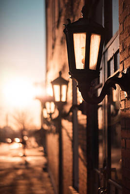 Photograph - Soulard Sunrise by Scott Rackers