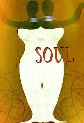 Soulchic Art Print by Romaine Head