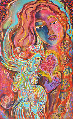 Painting - Soulfire by Mary Ann Matthys