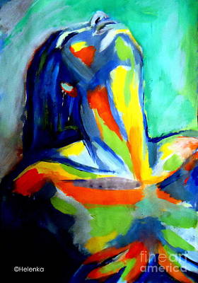 Soulful Art Print by Helena Wierzbicki