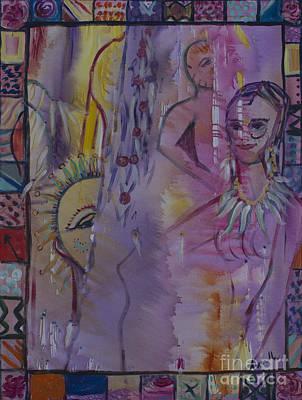 Movies Star Paintings - Souls Between Time by Avonelle Kelsey