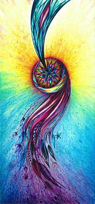 Souls Reunite Art Print by Andrea Carroll