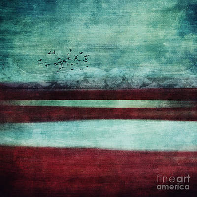 Aquamarine Photograph - Soulscape by Priska Wettstein