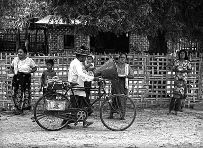 Sound Bike In Burma Art Print by RicardMN Photography
