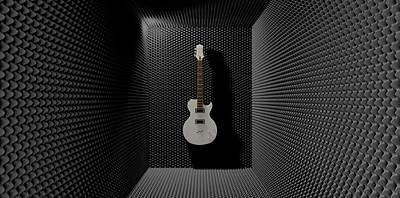 Sound Digital Art - Sound Discrimination by Allan Swart