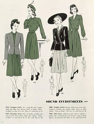 Pattern Drawing - Sound Investments, C.1940 by .