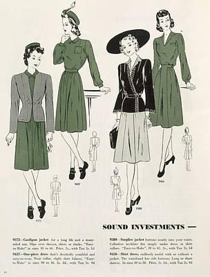Sound Investments, C.1940 Art Print