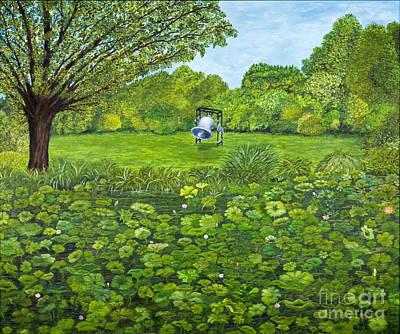 Sound Of Nature By Kevin Davis Art Print by Sheldon Kralstein
