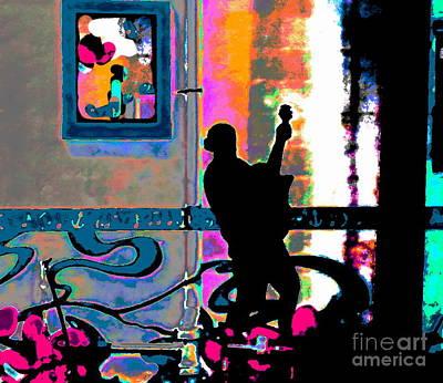 Photograph - Sound Scene by Expressionistart studio Priscilla Batzell