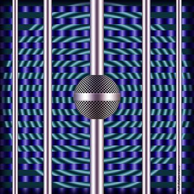 Digital Art - Soundcore 3 by WB Johnston