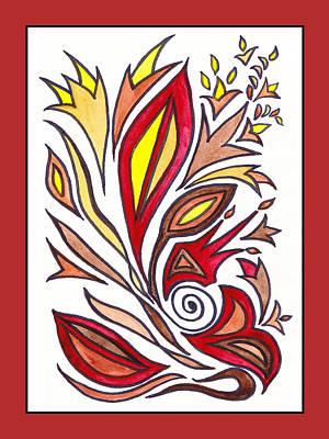 Painting - Sounds Of Color Doodle 1 by Irina Sztukowski