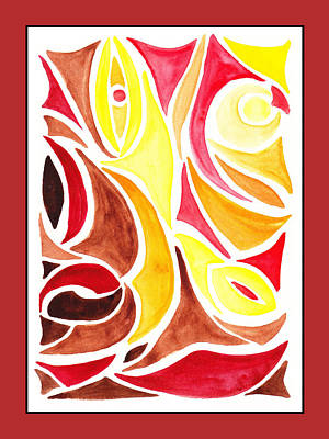 Painting - Sounds Of Color Doodle 2 by Irina Sztukowski