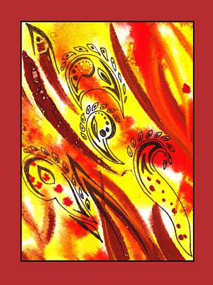 Painting - Sounds Of Color Doodle 6 by Irina Sztukowski