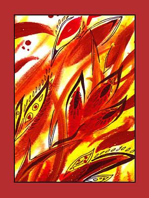 Painting - Sounds Of Color Doodle 7 by Irina Sztukowski