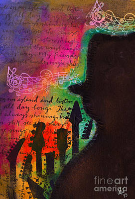Painting - Sounds Of Some Mighty Fine Jazz by Angela L Walker